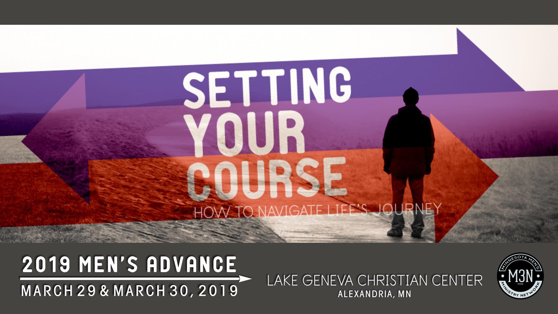 Minnesota District Assemblies of God, Living Hope Church Men's Ministry, Men's Ministry, 2019 Men's Advance