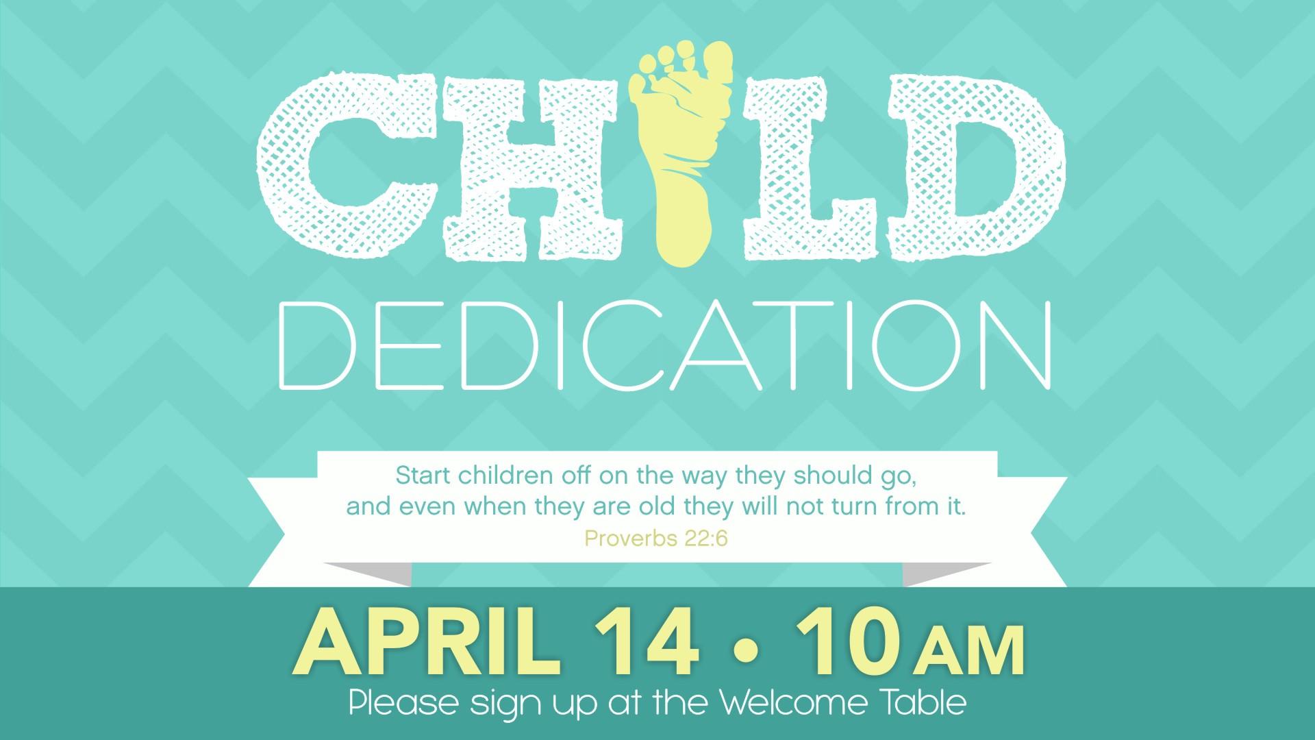 Child Dedication, Living Hope Church
