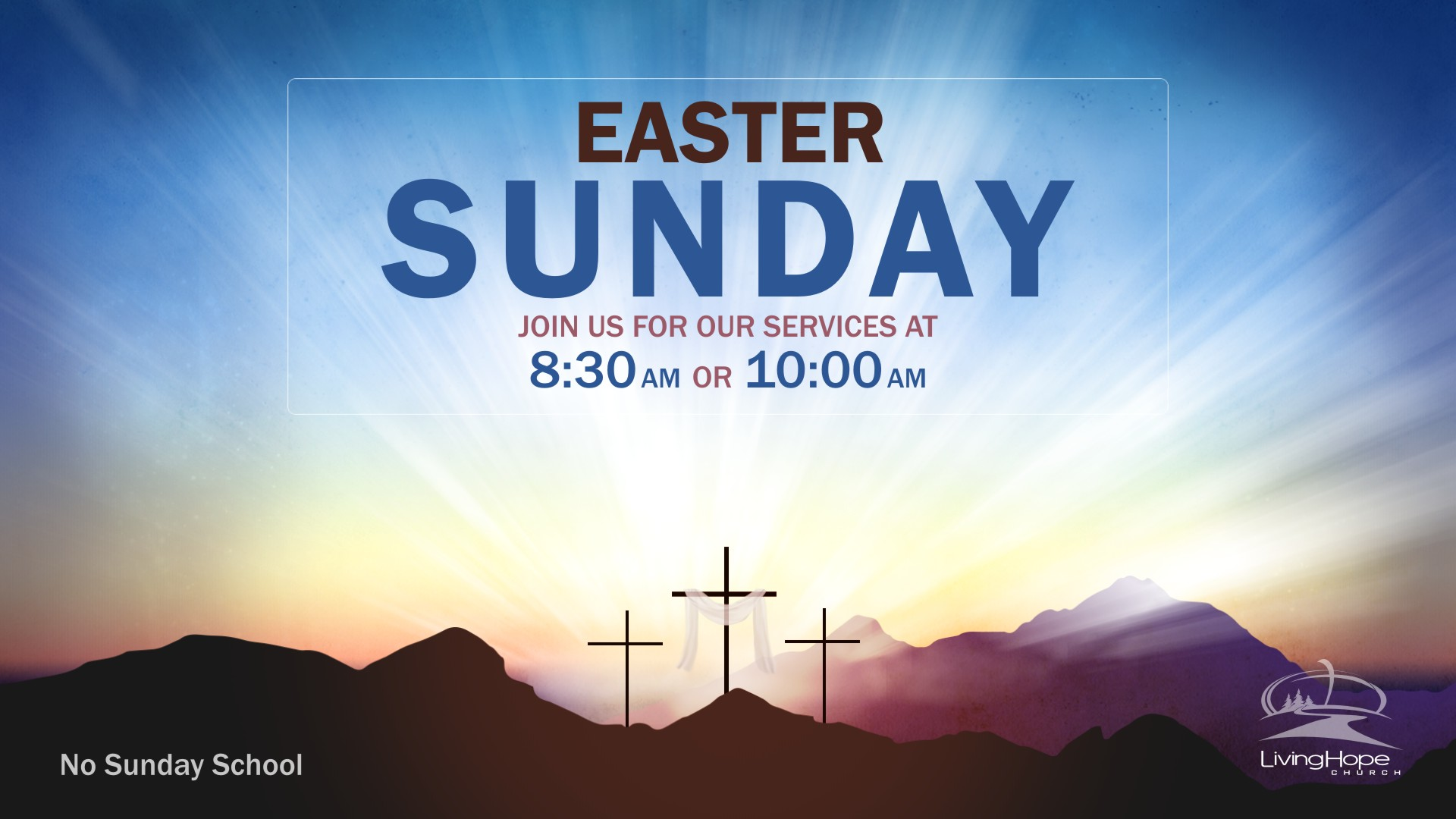 Easter Services, Living Hope Church, April 21 2019